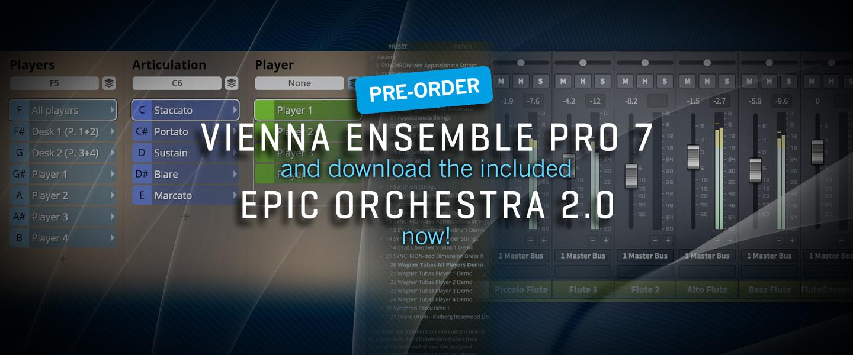 New Vienna Ensemble Pro 7 Vienna Symphonic Library
