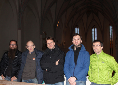 The MIR Crew at Pernegg monastery church