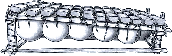 Gourd xylophone
